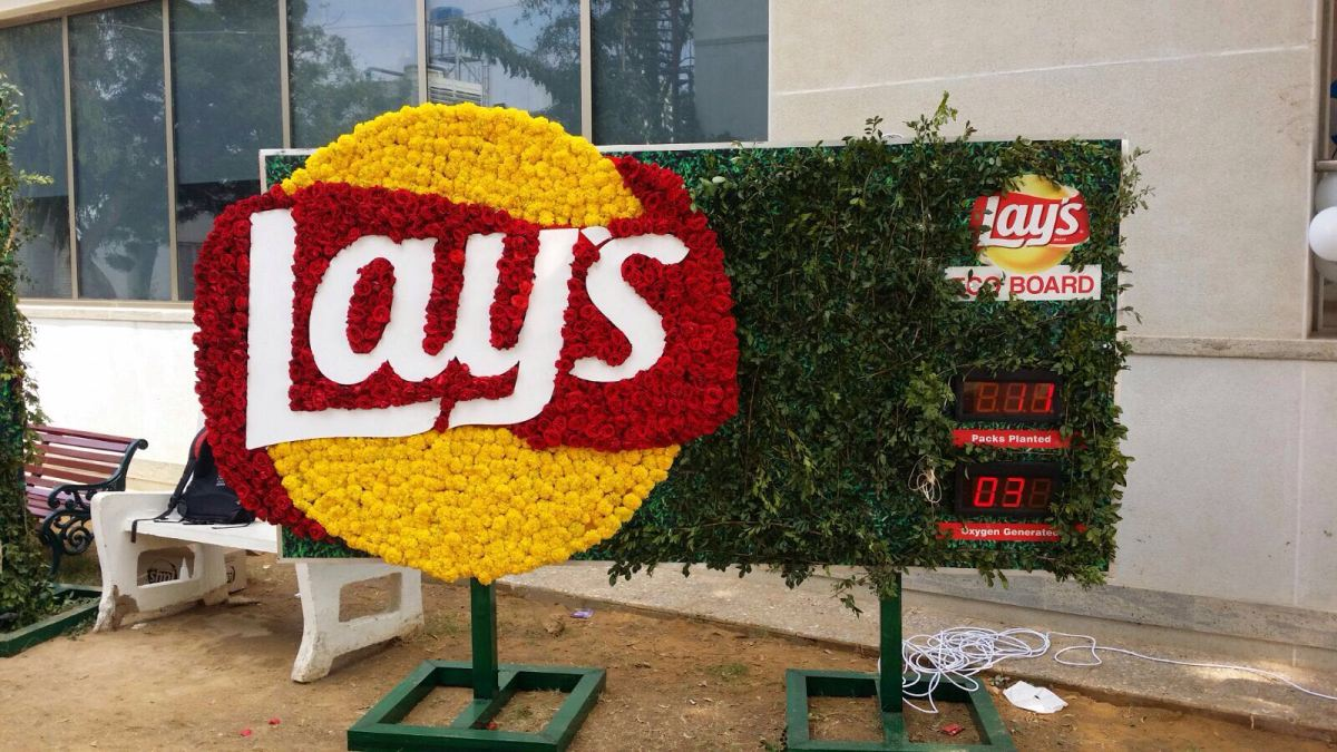 Lays #PlantAPack Campaign