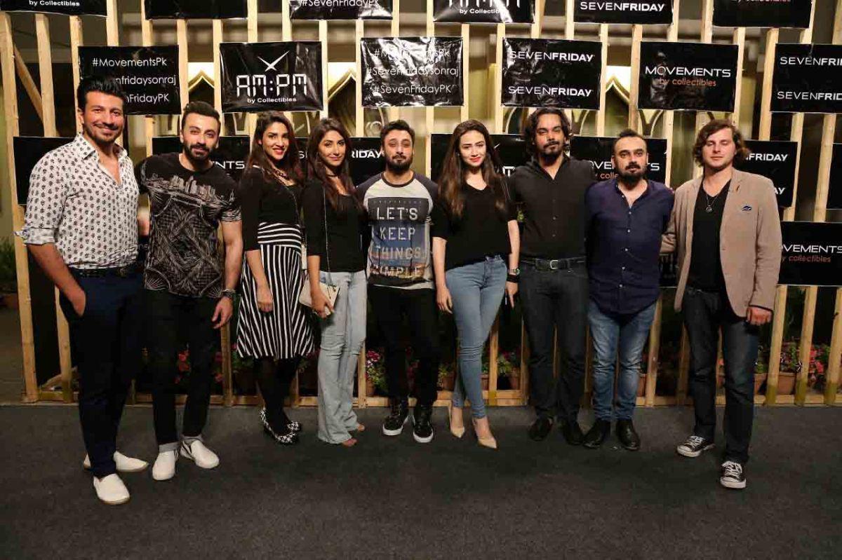 Star-studded launch for Seven Friday held inKarachi
