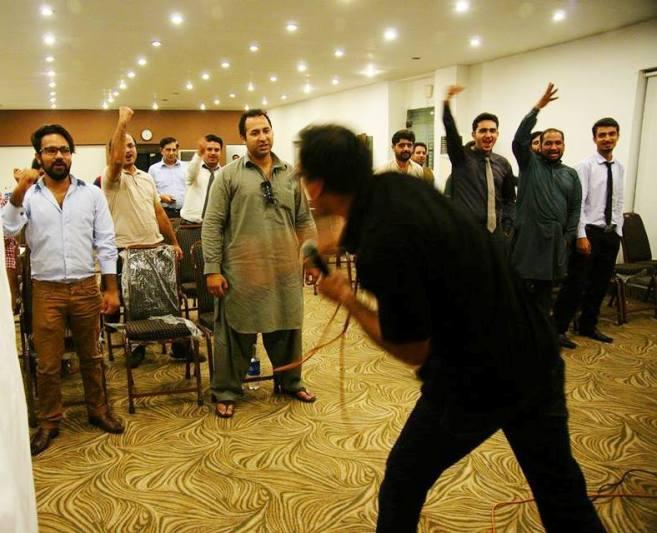 Ali Shan conducting Seminar 1