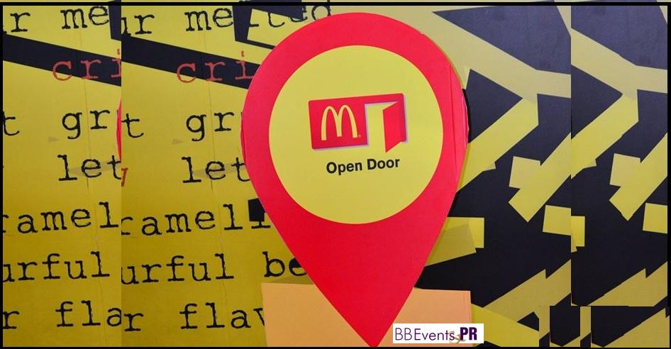 #Mcdonaldsopendoor, #bbpr, #iattendedopendoor