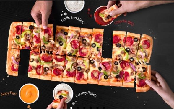 Big Dipper Pizza, Pizza Hut,