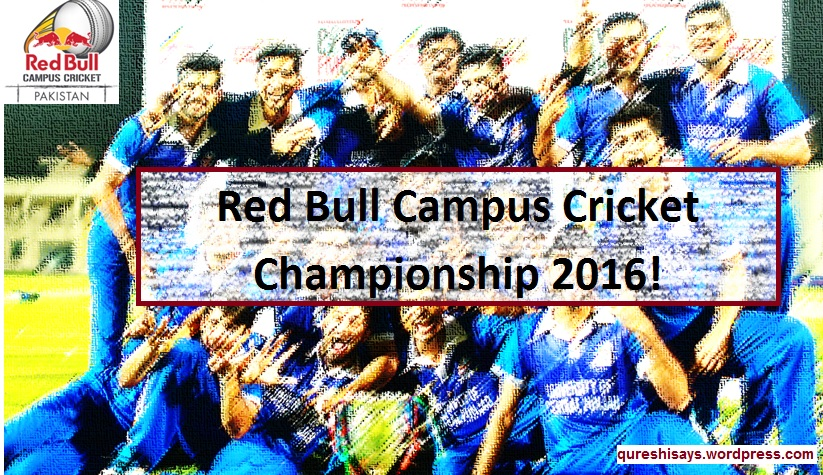 Red Bull Campus Cricket 2016