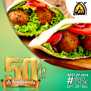 foodpanda, #DontCook, Best of 2016 23rd-25th Dec, Islamabad, Al Nakheel