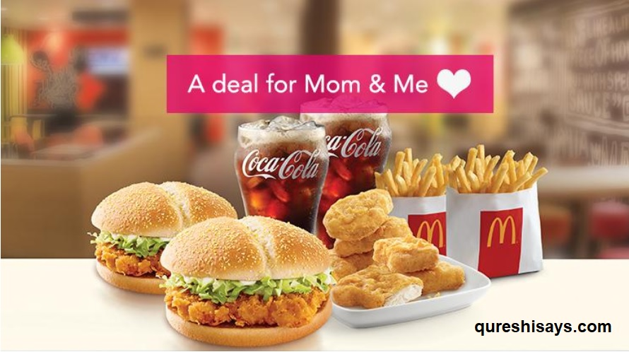 Mothers Day, foodpanda, McDonalds, #MomAndMe, Mc Crispy